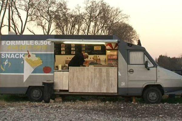 A la Ch'ti Frite : une baraque à frite dans un TGV