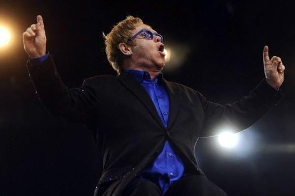 Elton John au festival de Poupet (Vendée) le 3 juillet dernier