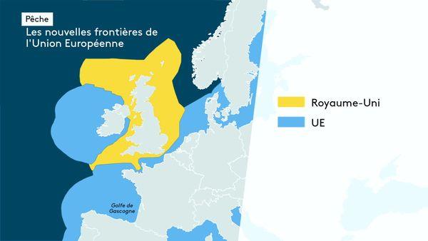 Pêche, les frontières de la nouvelle zone européeene