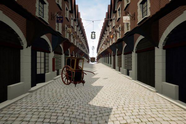 Un programme de réalité virtuelle mené à Calais a permis de recréer le Paris du XVIIe siècle.