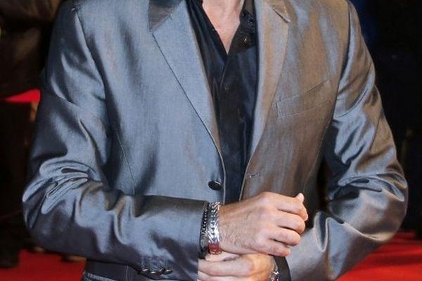 José Garcia sur les marches du festival de Cannes