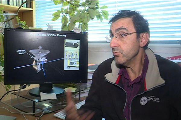 Le chercheur Philippe Zarka.