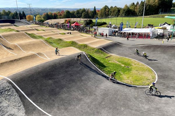 Limoges inaugurates its new BMX track