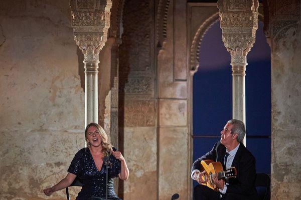 Rocio Marque, Alhambra, Grenade, Espagne 29/6/2020