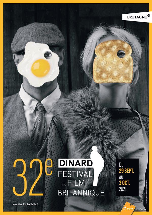 L'affiche de cette 32e édition du Dinard Festival du film britannique
