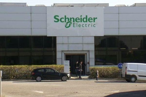 L'entreprise Schneider Electric à Montpellier