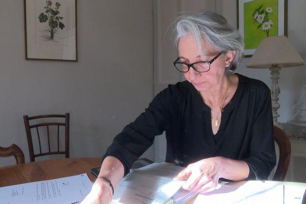 Marie-Cécile Donarumma se bat pour ne pas payer les dettes engendrées par son ex-époux.