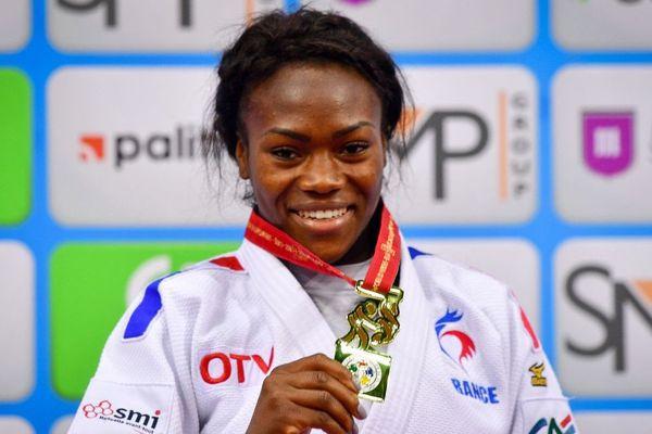 La judokate française Clarisse Agbegnenou, championne du monde 2018 des moins de 63 kg à Bakou - 23/09/2018