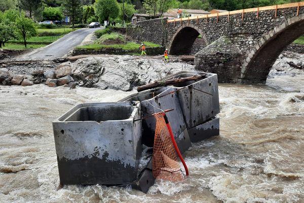 Les vagues de l'Hérault ont déplacé des blocs pesant jusqu'à 8 tonnes
