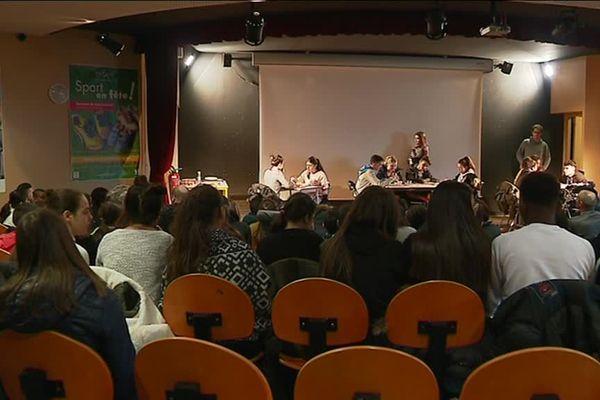 Une journée contre le harcèlement scolaire au collège Marcel Pagnol de Pierre-Bénite - 28/2/18