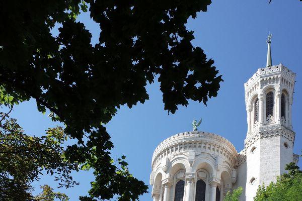La Basilique de Fourvière, symbole de l'Evêché de Lyon, a rouvert ses portes après 10 semaines de fermeture
