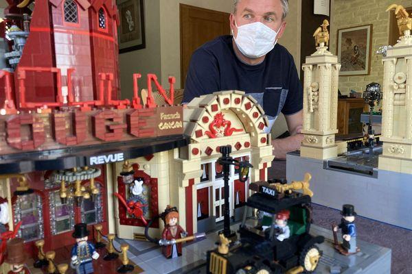 Les réalisations steampunks en Lego de Dominique Damerose, Président de l'association LUG'EST ( Lego User Group)