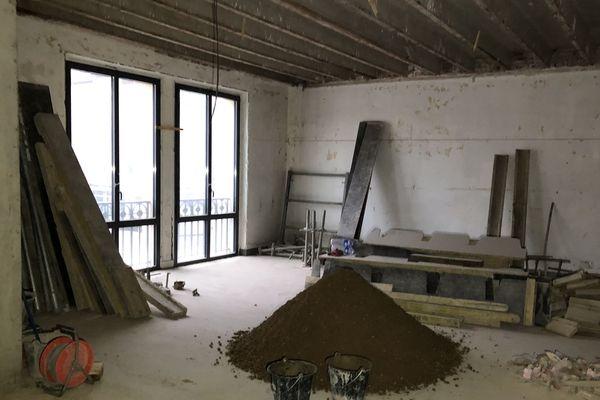 """Le chantier va laisser place à des chambres de type """"Loft"""""""