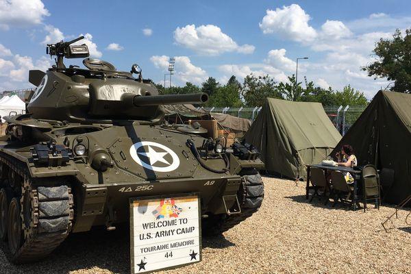 Un camp américain de 1944 reconstitué à l'American Tours Festival