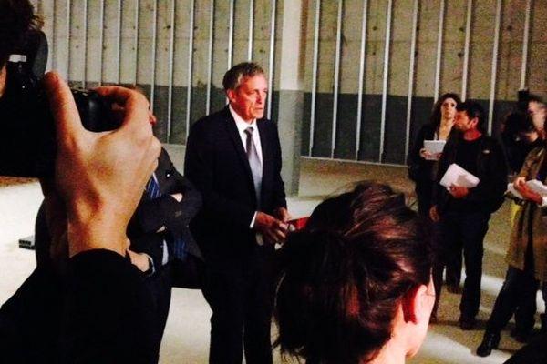 Philippe Saurel a convié la presse à une visite de chantier de l'ex musée de l'histoire française en Algérie