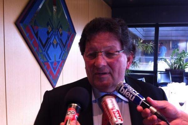 Guy-Dominique Kennel, président (UMP) du Conseil général du Bas-Rhin