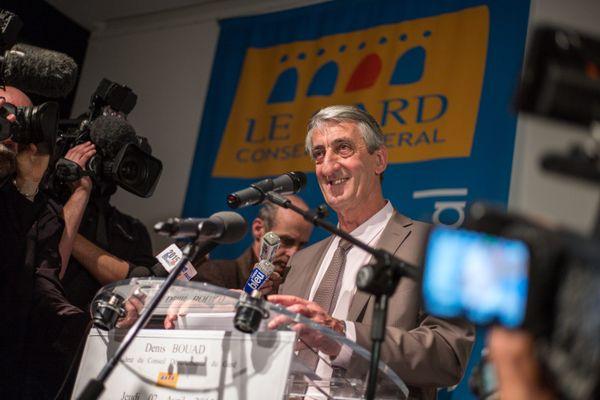 Denis Bouad est à la tête du département du Gard depuis 2015.