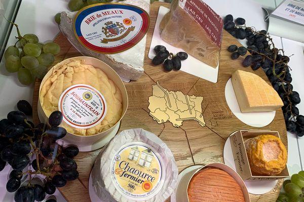 Les fromages de Champagne-Ardenne mis à l'honneur.