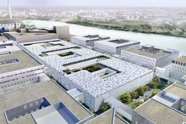 Le projet du nouveau CHU sur l'île de Nantes