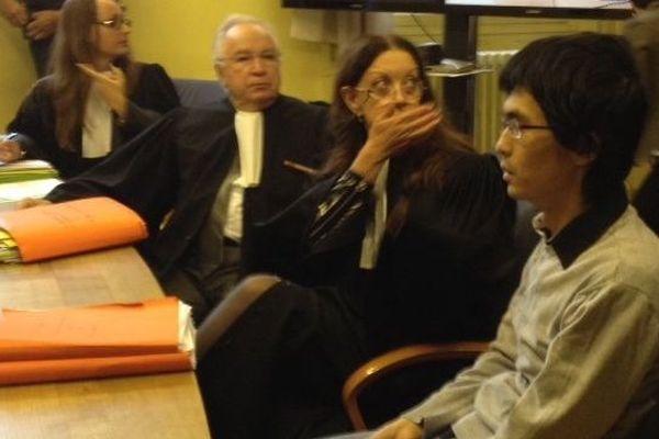 Ye Qing l'assassin de Sylvie Brazes lors de l'audience la chambre d'instruction