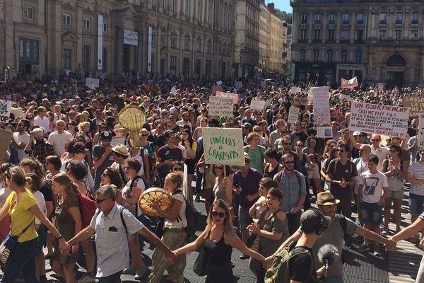 Marche pour le climat 16 mars 2019 à Lyon