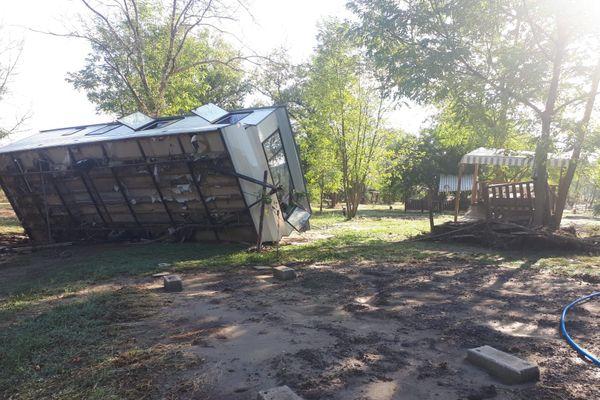 La propriétaire du camping estime le montant des dégâts à près d'un million d'euros - septembre 2020
