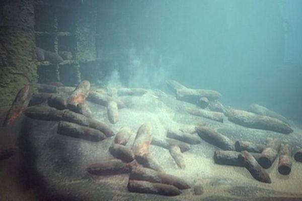 """Image extraite du documentaire """"Menaces en mer du Nord"""""""