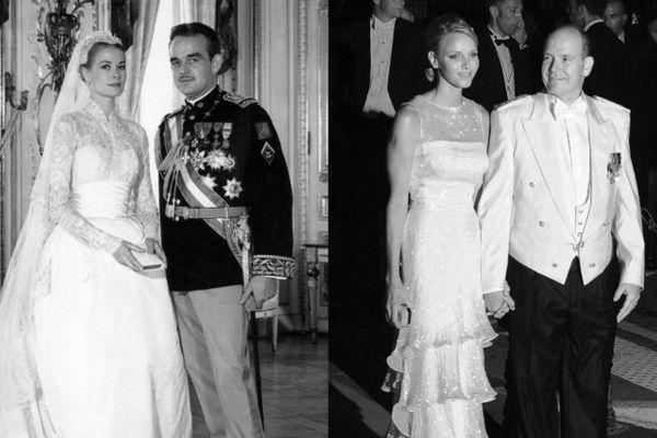 Glamour hier et aujourd'hui, les mariages princiers font toujours rêver.