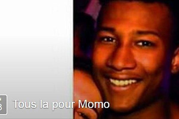 """Page d'invitation à la marche """"Tous là pour Momo"""""""