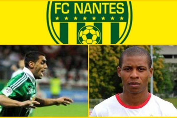Banel Nicolita et Johan Audel, les deux dernières recrues de FC Nantes