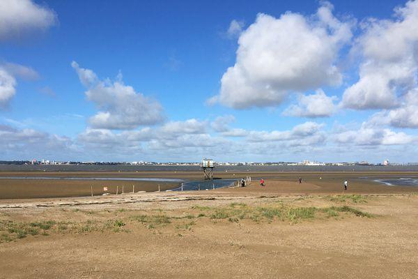 L'estuaire de la Loire à Saint-Brévin-les-Pins après la tempête