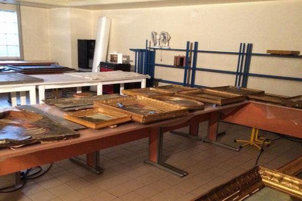 Les oeuvres d'art du musée Girodet ont été touchées par les inondations