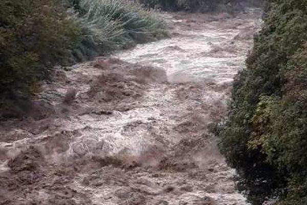 16/10/2018 - Les fleuves Golo et Fiumalto (photo) sont en crue.
