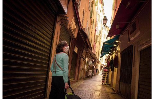 Le Vieux Nice silencieux, un matin quelques jours avant le déconfinement