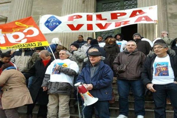 Carcassonne - les Pilpa obtiennent l'interdiction du licenciement collectif - 16 janvier 2013.