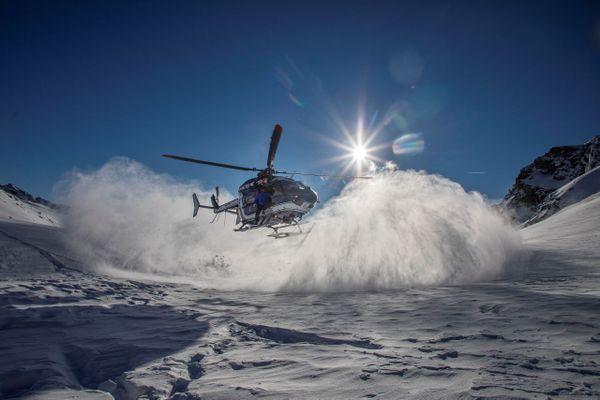 Illustration de l'hélicoptère du PGHM