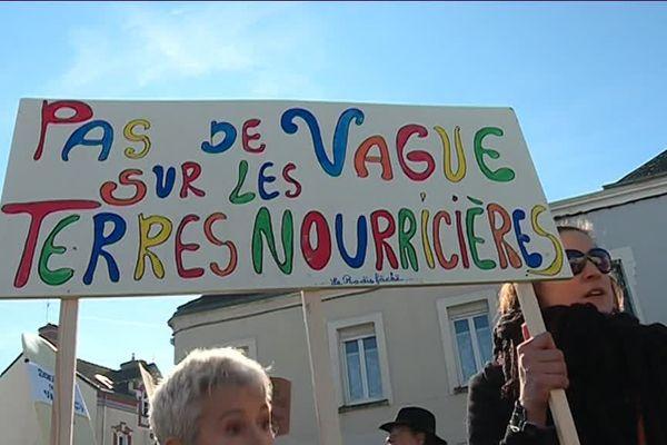 Manif anti Surf Park à Saint-Père-en-Retz, le 24 février 2019