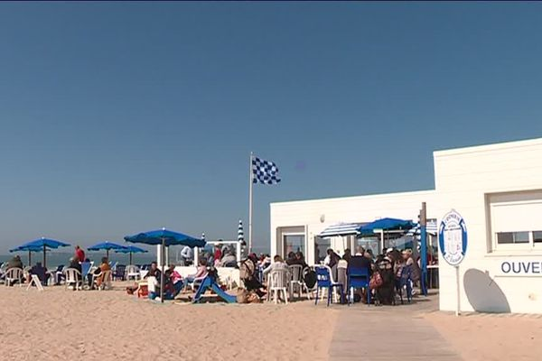 Le restaurant de plage l'Escale à Pornichet est ouvert toute l'année.