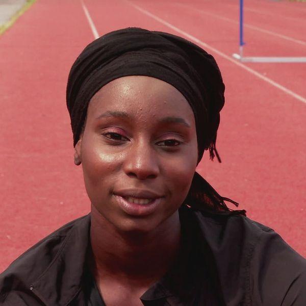 La relayeuse 4X400m, Soukamba Sylla, elle fait ses premiers JO à 23 ans