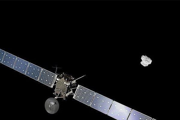 """Rosetta s'est approché au plus près de """"Tchouri"""""""