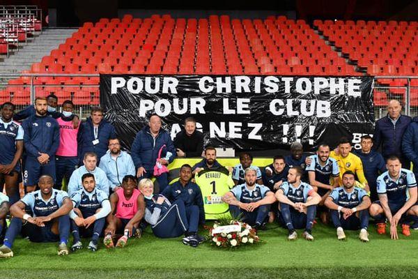 Le HAC a dédié sa victoire à Christophe Revault