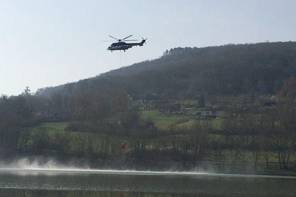 L'appareil devrait être positionné en Nouvelle-Aquitaine pour pouvoir intervenir rapidement sur les feux de forêts.