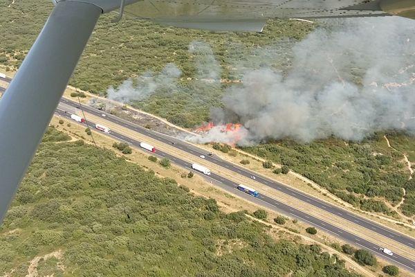 Le feu a brûlé 4 hectares vendredi 2 juillet, au niveau de Rochefort-du-Gard.
