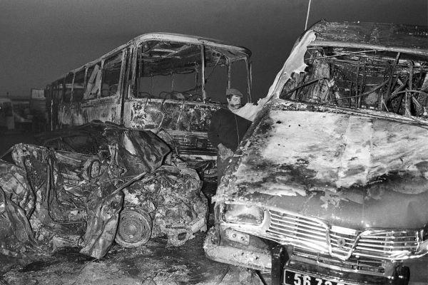 L'accident le plus meurtrier de l'histoire de la circulation en France s'est produit à Beaune, sur l'autoroute A6, le 31 juillet 1982 : une collision entre trois voitures et deux cars a causé la mort de 53 personnes, dont 44 enfants.