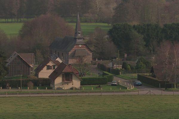 Perruel village de la vallée de l'Andelle
