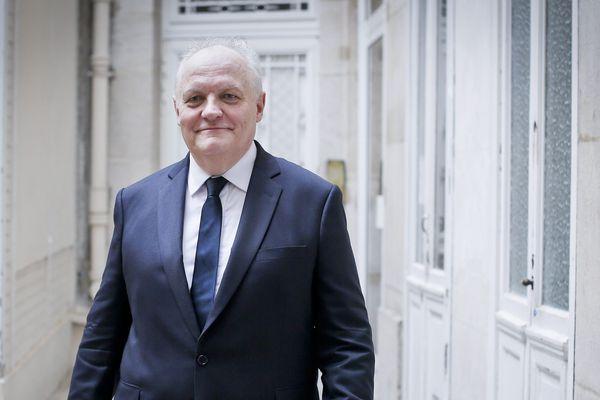 François Asselineau, candidat de l'UPR à l'élection présidentielle.