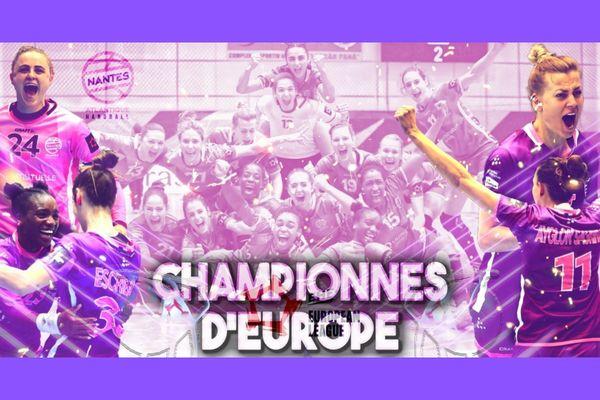 Les handballeuses de Nantes ont remporté la Ligue Européenne ce dimanche 9 mai 2021
