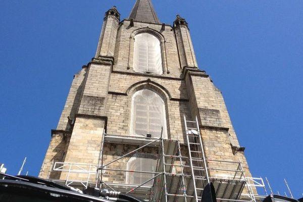 Le clocher de la cathédrale de Tulle