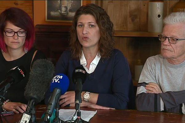 """L'association des victimes """"Avapolvi"""" a tenu une conférence de presse ce vendredi après-midi."""