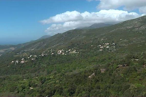 Le village de Barbaggio, en Haute-Corse